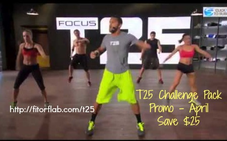 Focus T25 Challenge Pack Discount