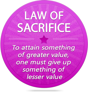 Law of Sacrifice