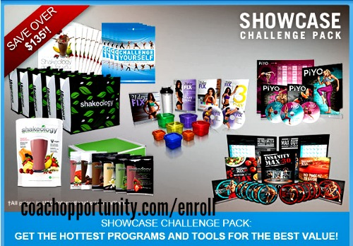 Team Beachbody Showcase Challenge Pack
