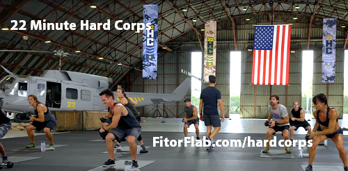 22 Minute Hard Corps workout Tony Horton