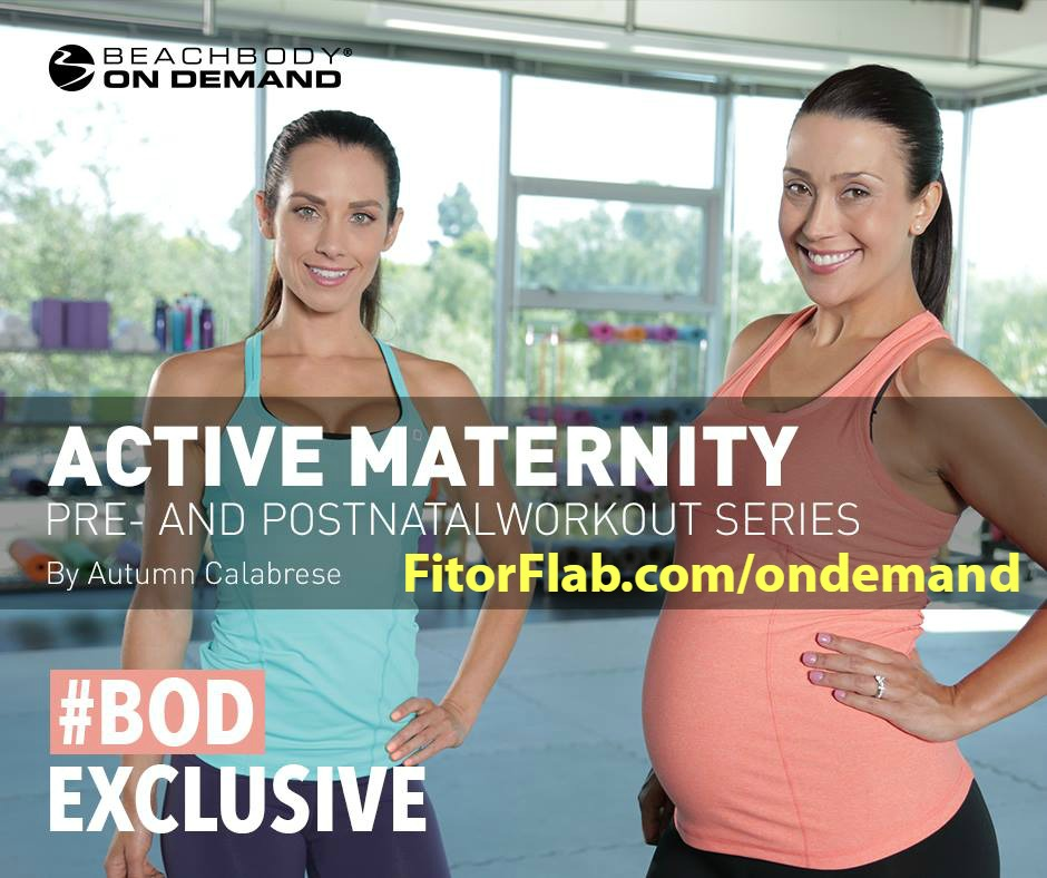 Active Maternity Workouts - Autumn Calabrese